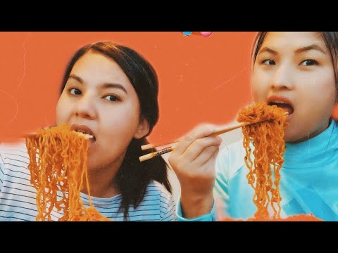 Super Spicy noodles challenge🌶|| Watch the video to find out the winner🏆
