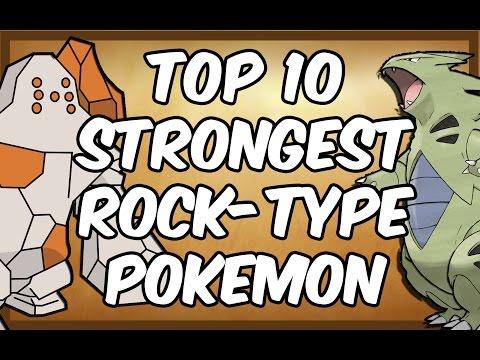 Top 10 Strongest Rock-Type Pokemon
