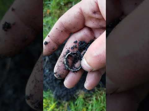 925 silver ring found metal detecting