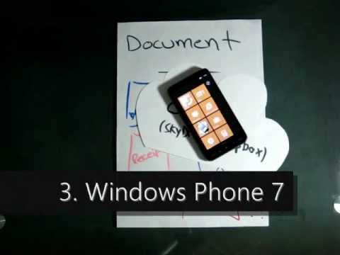 Upload anything to the cloud with Windows Phone 7 + Handyscan