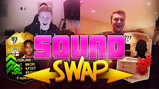INSANE NEW DUAL SQUAD BUILDING SERIES!! SQUAD SWAP - FIFA 16
