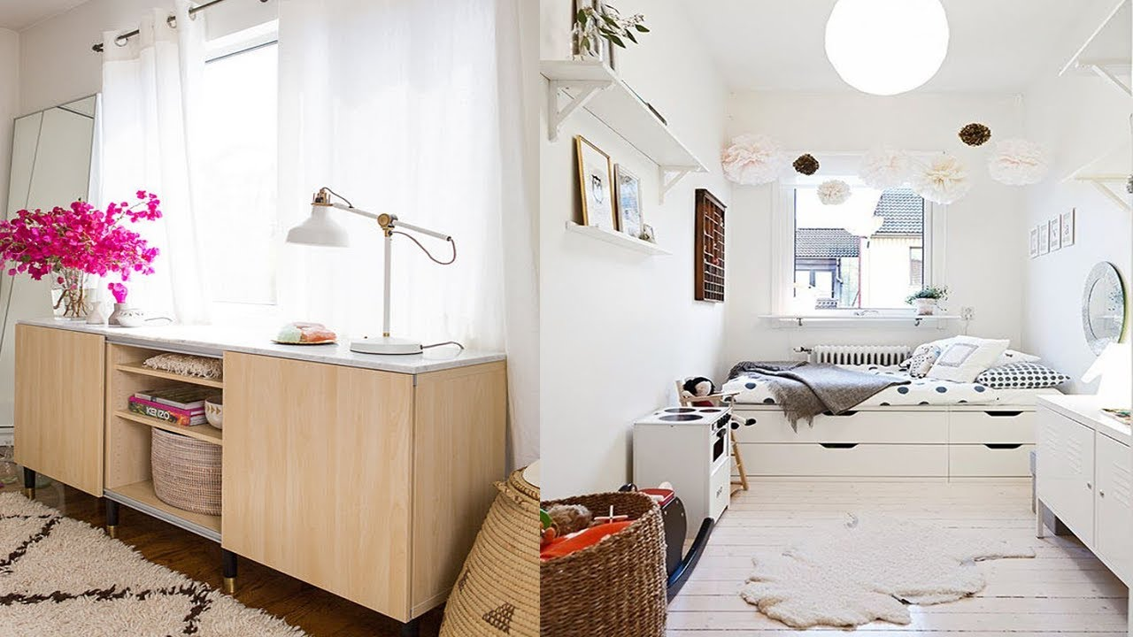 10 IKEA Hack Ideas - Storage Solutions With IKEA - YouTube