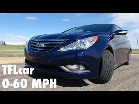 2014 Hyundai Sonata Turbo 0 60 Mph Hot Lap Review