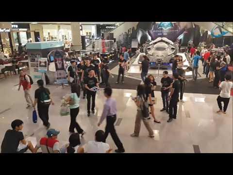 Inside Pavilion Shopping Mall Malaysia kuala lumpur Bukit Bintang