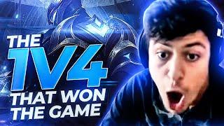 LL STYLISH | THE ZED 1V4 THAT WON US THE GAME