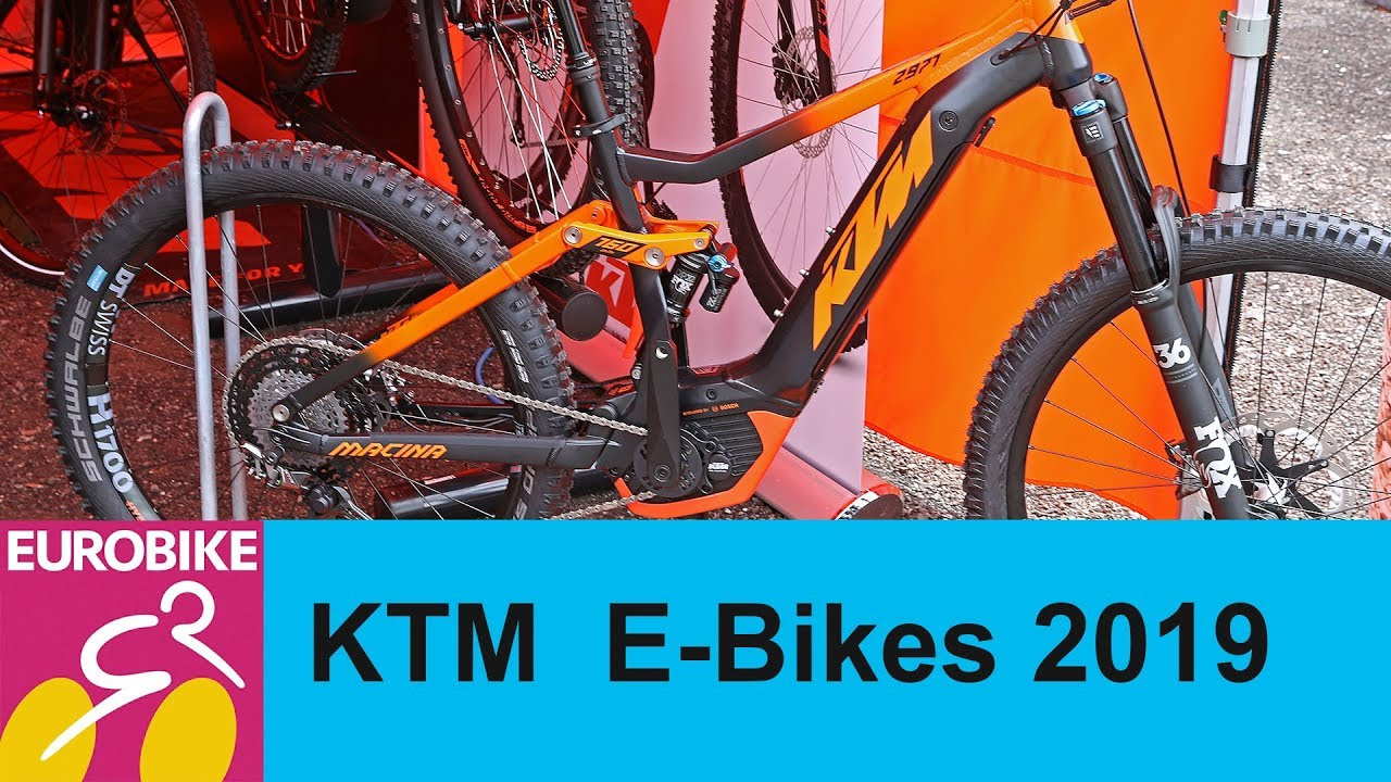 ktm e bikes 2019 presentation eurobike 2018 youtube. Black Bedroom Furniture Sets. Home Design Ideas