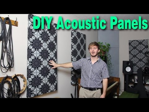 DIY Acoustic Panels with Roxul Safe n' Sound Insulation ...