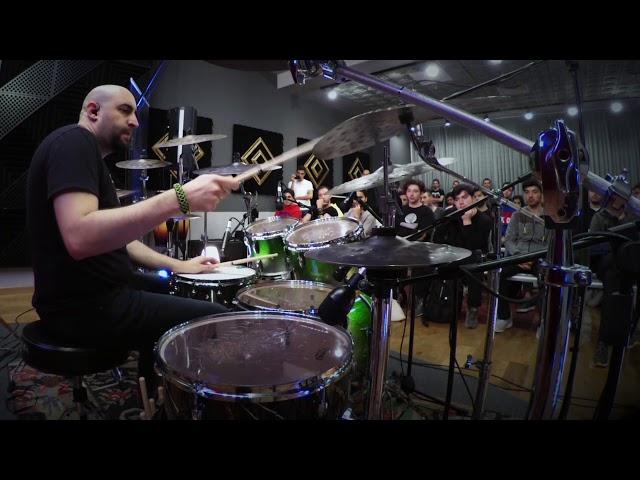 Doğaç Titiz - The new XIST Dry Dark Cymbals (Akasya - Zuhal Müzik)