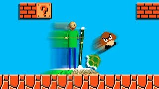 One Way BALDI could EASILY complete Mario Level 1-1