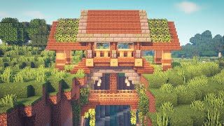 Minecraft 1.17 | How to Build a Ravine House