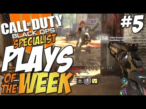 Call of Duty: Black Ops 4 - Top 10 Kills Of The Week Specialist 5 #CODTopPlays