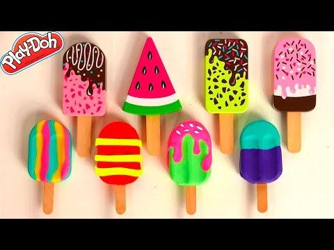 Ciastolina Lody i Popsicle zabawki dla dzieci