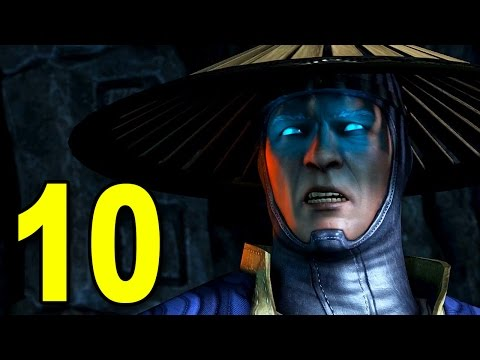 Mortal Kombat X - Chapter 10 - Raiden (Playstation 4 Gameplay)