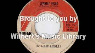 LOVINGLY YOURS - Rosalie Robles
