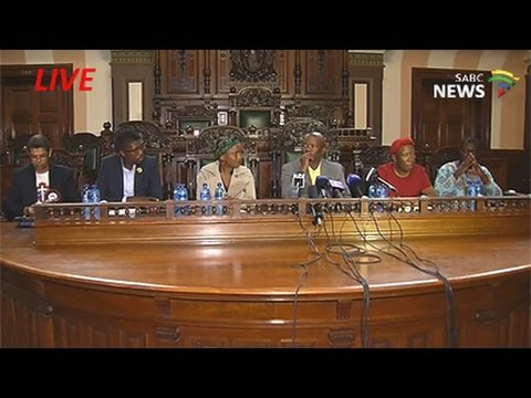 Opposition Parties Media Briefing, 10 April 2017