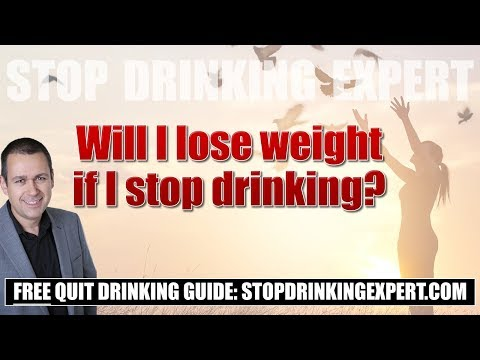 Will I lose weight if I stop drinking?