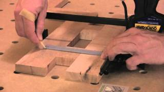 Make A Bar Stool With Loose Tenon Joinery