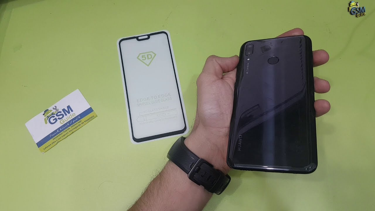 Huawei Y9 2019 5D Tempered glass Full Glue how to put - Gsm Guide