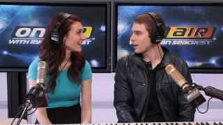 karmin look at me cover chris brown performance on air with ryan seacrest