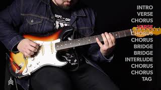 """Tutorial   """"After Your Heart"""" - Electric Guitar   Vertical Worship"""