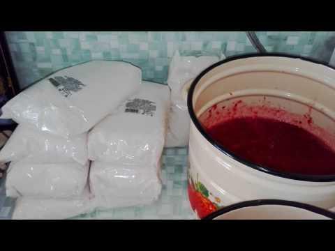 Как перетереть бруснику с сахаром на зиму