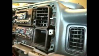 2001 CHEVY TAHOE AMP INSTALL POWER ACOUSTIK BAMF W/FACTORY AMP, COMPUTER DESIGNED
