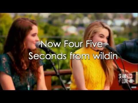 Four Five Seconds - Sabrina Carpenter (Lyrics)