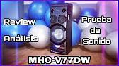 Sony MHC-EC619iP Review - YouTube