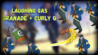 Blitz Brigade Fragmovie Граната с веселящим газом + Кучерявый кью (Laughing gas granade+Curly q)