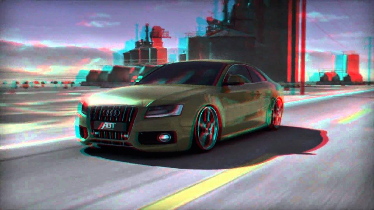 3d Anaglyph 3d Audi S5 Abt 3d Car Configurator Intro Hd