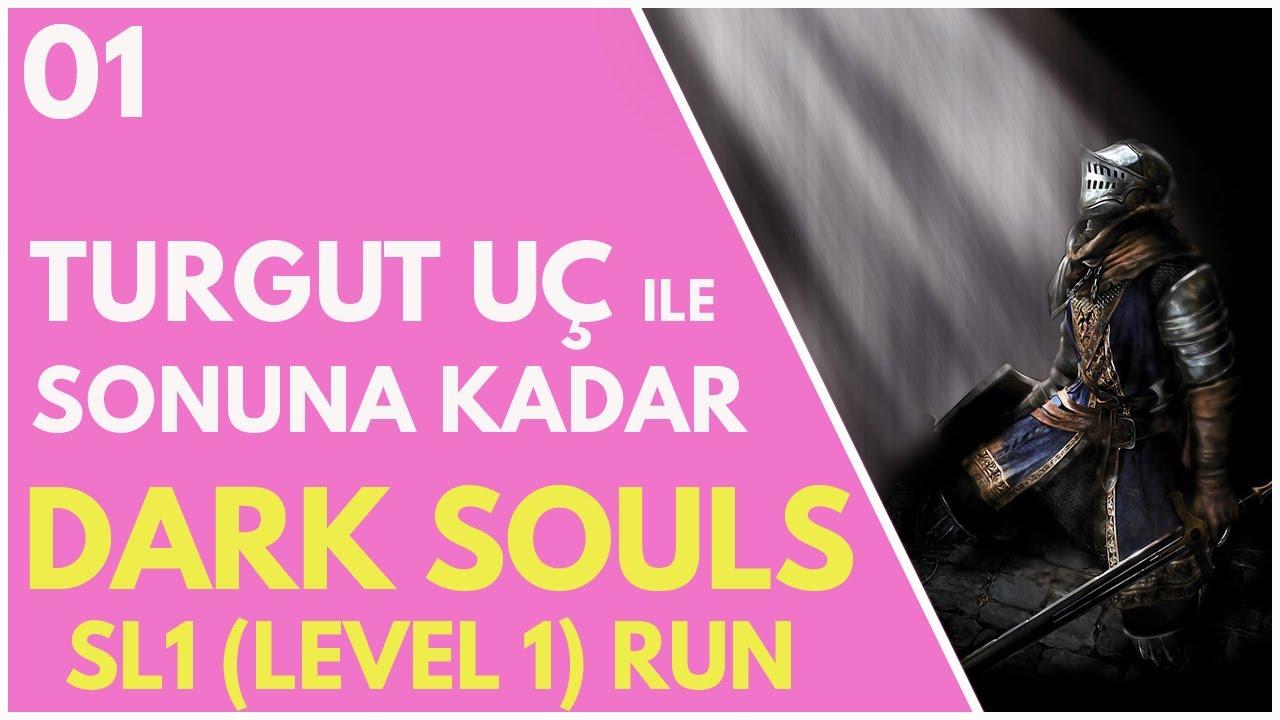 Dark Souls SL1 (Level 1) Run - Bölüm 1 (Serinin kalanı tüm Katıl destekçilerine özel olarak yayında)
