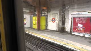 Full Journey On The Circle Line S7 Stock From Edgware Road to Hammersmith Via High Street Kensington