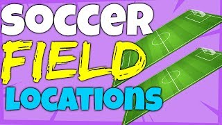 Fortnite ALL SOCCER FIELD LOCATIONS - Football Pitch - Score a Goal on Different Pitches