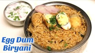 Egg Dum Biryani | Hyderabadi Egg Dum Biryani | Egg Biryani Recipe in Telugu By Hyderabadi Ruchulu