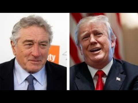 Hollywood tough guy Robert De Niro trash talks Trump