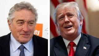 Hollywood tough guy Robert De Niro trash talks Trump