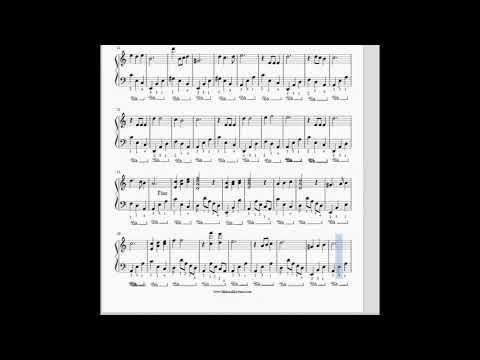 Iranian Piano sheet - Khooneye ma  - Marjan Farsad -  نت پیانو خونه ی ما برای پیانو