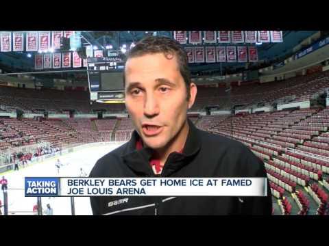 Berkley High School hockey calls Joe Louis Arena home for a day