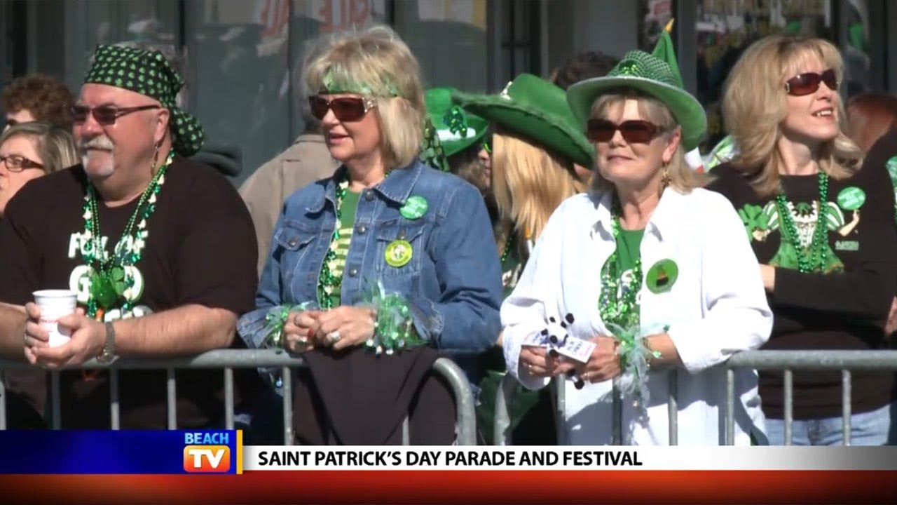 St. Patrick\'s Day Parade in North Myrtle Beach - Local News - YouTube
