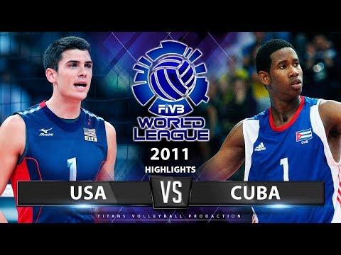 Legendary Match | USA Vs Cuba | World League 2011