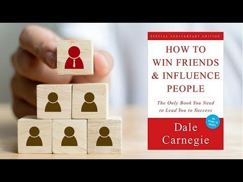 """فن التعامل مع الناس - ملخص كتاب : """"كيف تكسب الأصدقاء وثؤثر فى الناس"""""""