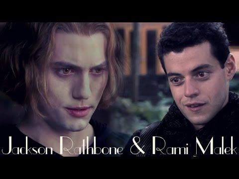 Jackson Rathbone & Rami Malek