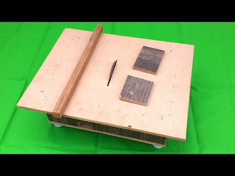 How to Make a Table Saw with 775 Motor - DIY Homemade Table Saw