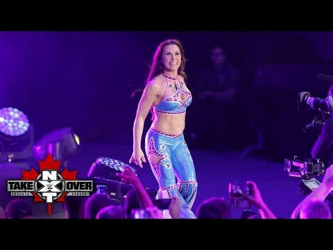 Mickie James' entrance: NXT TakeOver: Toronto: November 19, 2016