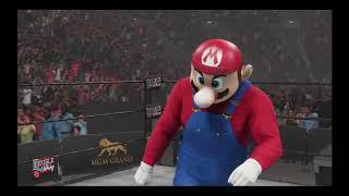 WWE Mario vs Luigi