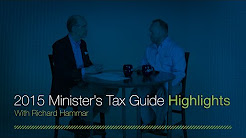 Richard Hammar Previews the 2015 Minister's Tax Guide