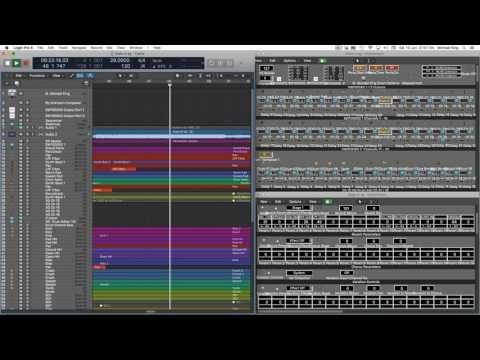 State M XG in Yamaha SW1000XG Synthesiser Environment - YouTube