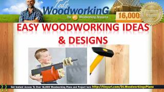 Easy Woodworking Ideas - Carpentry Designs