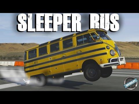 THE ULTIMATE SLEEPER! - 1963 Volkswagen Bus || SLEEPER BUILD || Forza 6