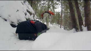 Winter Camping PART 2 on Sioux Hustler Trail BWCA Minnesota
